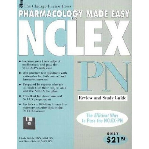 Pharmacology Made Easy for NCLEX-PN - by  Linda Waide & Berta Roland (Mixed media product) - image 1 of 1
