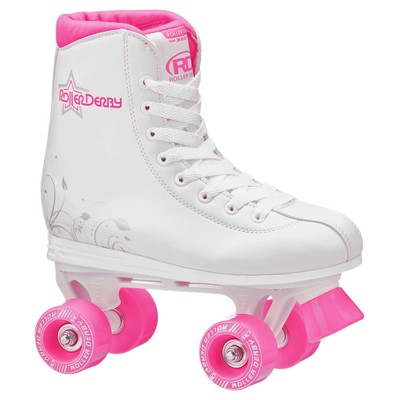 Roller Derby® Girls' Roller Star 350™ Quad Skates - White/Pink