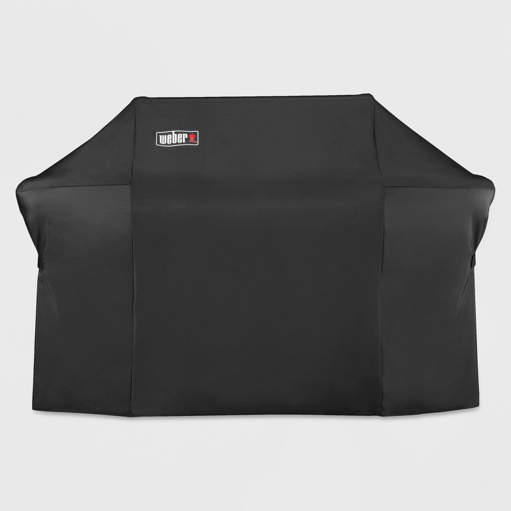 Weber Summit 600 Series Grill Cover with Storage Bag, Black 16879852