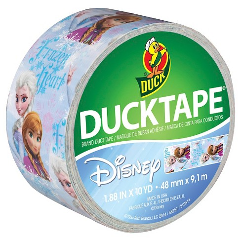 "Disney Licensed Duck Tape® Brand Duct Tape ""Frozen,"" featuring Anna and Elsa, 1.88 in. x 10 yd. - image 1 of 1"