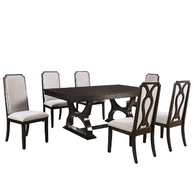 Non Extendable Dining Room Sets, Zimbroni Dining Room Set