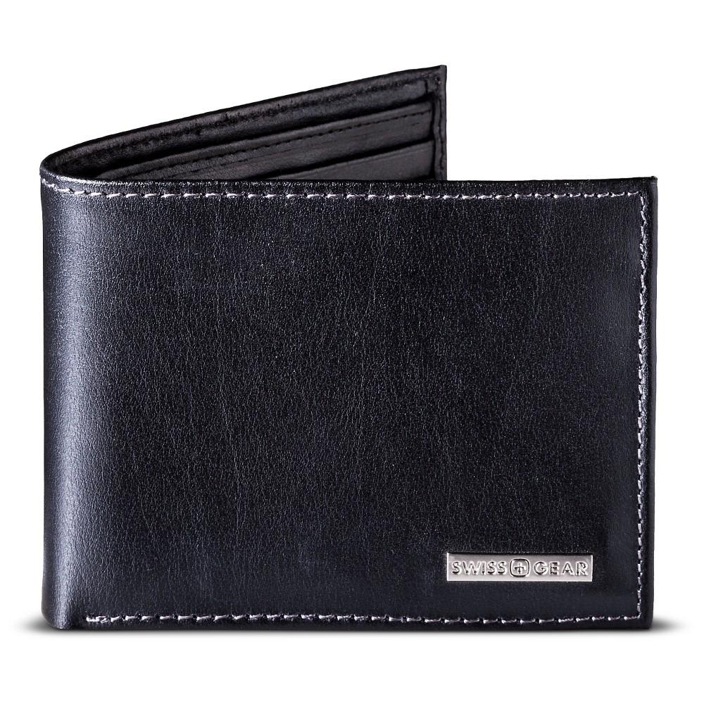 Swissgear Men S Wallet Open No Closure Black
