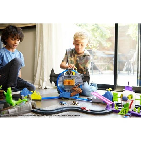 77eb2045488d Hot Wheels City Batman Batcave Trackset   Target