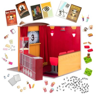 "Our Generation Movie Theater Playset with Electronics for 18"" Dolls - OG Cinema"