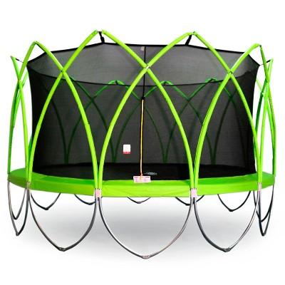 Flybar Spark Trampoline 14' - Green