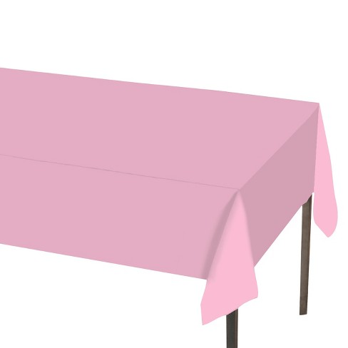 """Solid Tablecovers 54"""" x 108"""" Light Pink - Spritz™ - image 1 of 1"""