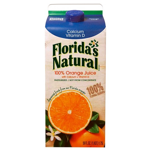 Florida's Natural Premium Calcium & Vitamin D No Pulp Orange Juice - 59oz - image 1 of 1