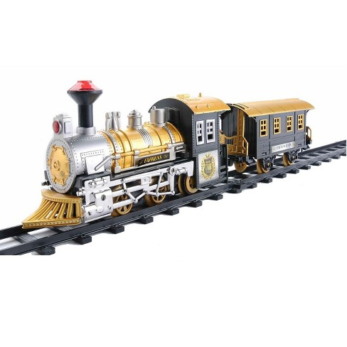 Northlight 8-Piece Fast Forward Battery Operated and Animated Classic Train Set with Sound - image 1 of 5