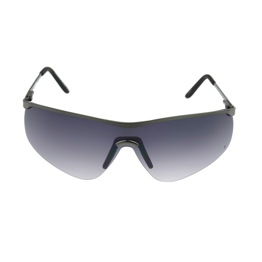 Image of Iron Man Men's Shield Sunglasses - Dark Gray, Size: Small