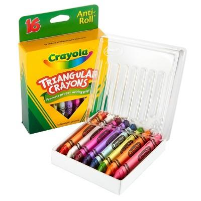 Binney & Smith Crayola Triangle Crayons 16/Bx 52-4016