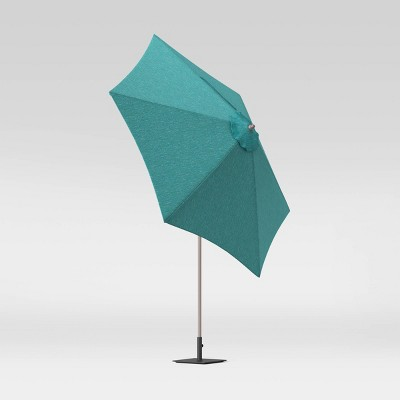 9' Round Patio Umbrella DuraSeason Fabric™ Teal - Project 62™
