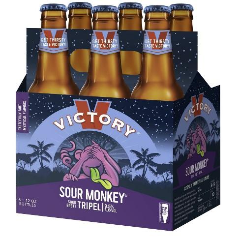 Victory Sour Monkey Tripel Beer - 6pk/12 fl oz Bottles - image 1 of 2