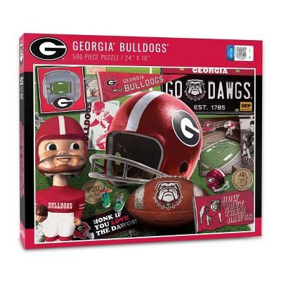 NCAA Georgia Bulldogs Throwback Puzzle 500pc