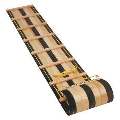Flexible Flyer 6' Wooden Toboggan