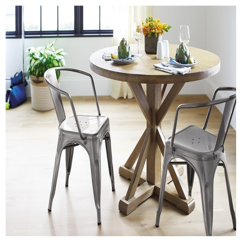 Harvester 42 Round Dining Table Acorn Beekman 1802 Farmhouse Target