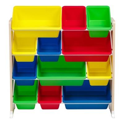 IRIS 4 Tier Storage Bin Rack Primary