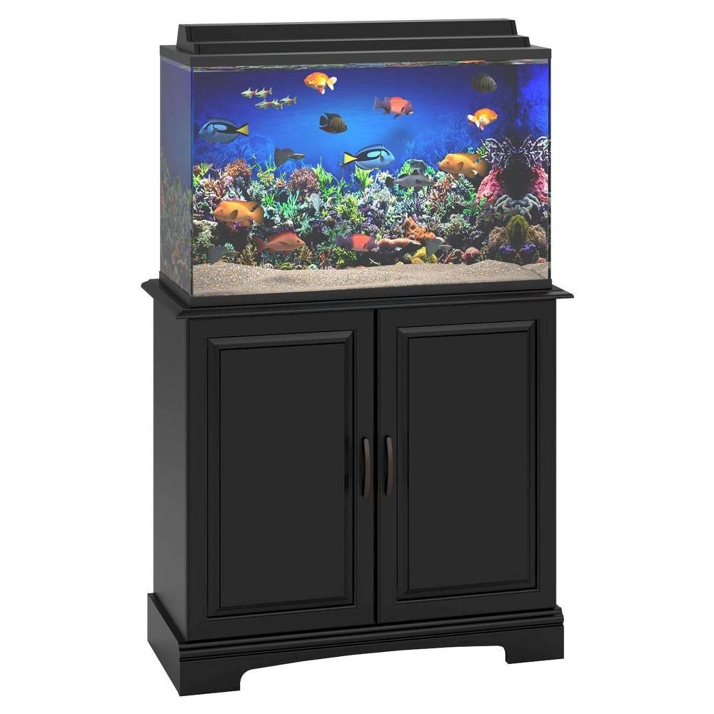 Port 29 - 37gal Aquarium Stand Black - Room & Joy