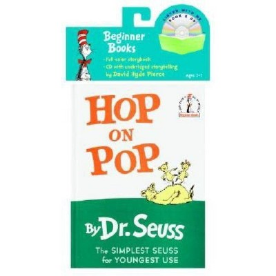 Hop on Pop Book & CD - (Beginner Books Read-Along Book & Audio)by Dr Seuss (Mixed Media Product)