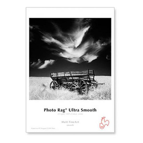 Hahnemuhle Photo Rag Ultra Smooth 305gsm, 17 x 22 , 25 Sheets - image 1 of 1