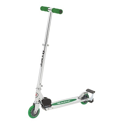 Razor Spark Unisex Kick Scooter Toy w/ Adjustable Handlebar, Sparking Bar, and Bonus Spark Cartridge for Girl & Boy Kid Riders Age 8 Years & Up, Green