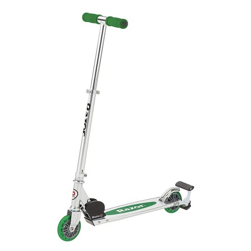 Razor Spark Unisex Kick Scooter Toy w/ Adjustable Handlebar, Sparking Bar, and Bonus Spark Cartridge for Girl & Boy Kid Riders Age 8 Years & Up, Green - image 1 of 4