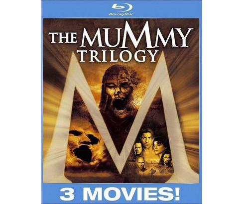 The Mummy Trilogy (3 Discs) (Blu-ray) - image 1 of 1