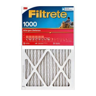 Filtrete Allergen Defense Air Filter 1000 MPR