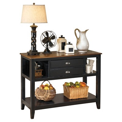 Owingsville Dining Room Server Wood/Black/Brown   Signature Design By Ashley
