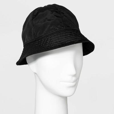 Women's Nylon Bucket Hat - Wild Fable™ Black