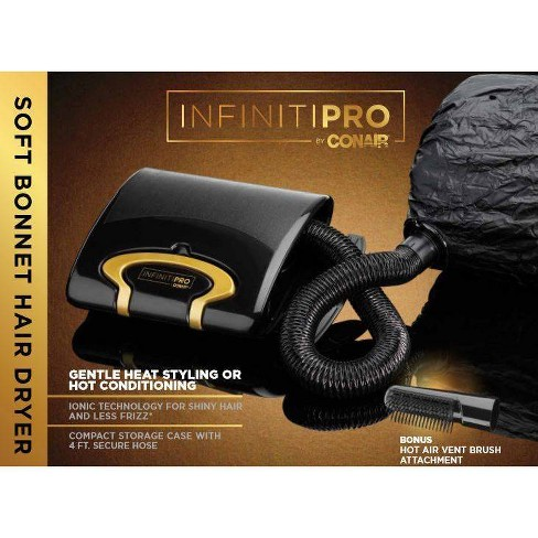 InfinitiPro Gold by Conair Soft Bonnet Hair Dryer - image 1 of 4