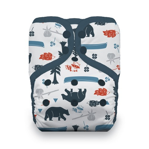 Thirsties | Pocket Snap Cloth Diaper Pack of 1 - image 1 of 1