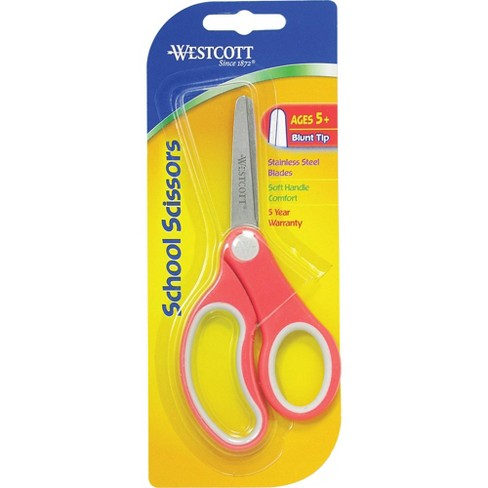 "Acme Kids Scissors Soft Handle Blunt 5"" STST Blades/Assorted 14726 - image 1 of 1"
