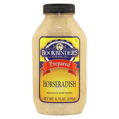bookbinder s prepared horseradish 9 75oz target