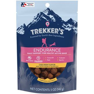 Trekker's Dog Treats Endurance Chicken Flavor - 5oz Pouch
