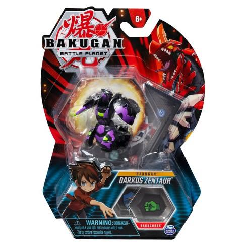 "Bakugan Darkus Zentaur 2"" Collectible Action Figure and Trading Card - image 1 of 4"