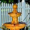 """40"""" Tropical 3-Tier Outdoor Garden Water Fountain - Sunnydaze Decor - image 2 of 4"""