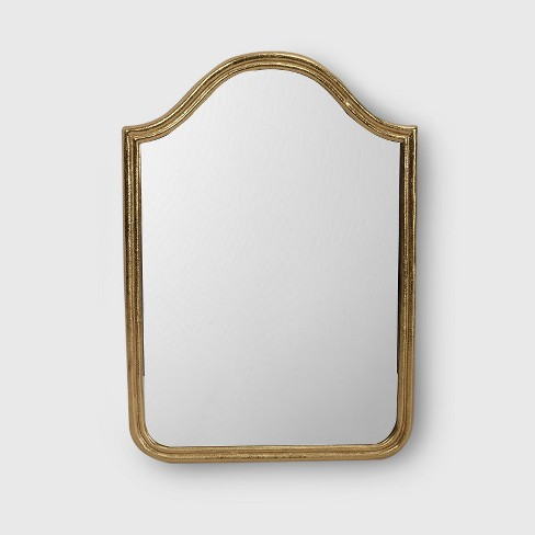 Decorative Wall Mirror Gold Opalhouse Target
