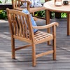 Sherwood Outdoor Teak Dining Chair - Cambridge Casual - image 3 of 4