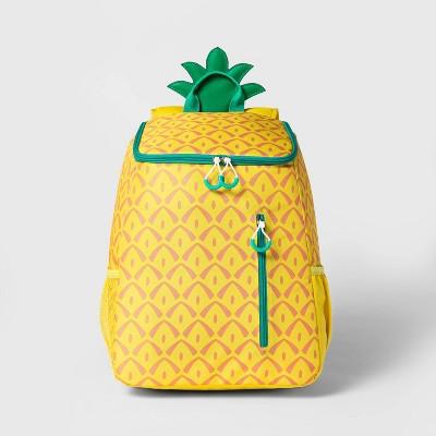 14.4qt Backpack Cooler Pineapple - Sun Squad™