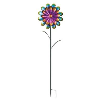 58  Tall Metal Satin Flower Stake - Sunset Vista Design