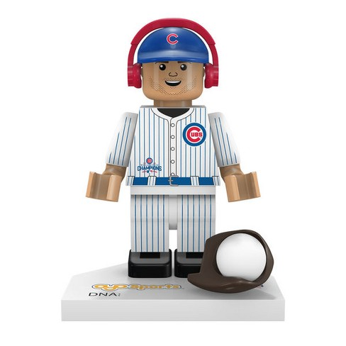Chicago Cubs 2016 World Series Champions Kris Bryant #17 Minifigure - image 1 of 1