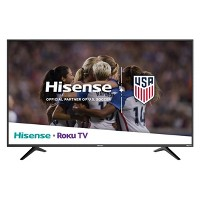 Deals on Hisense 50R6040E 50-in 4K UHD ROKU with HDR