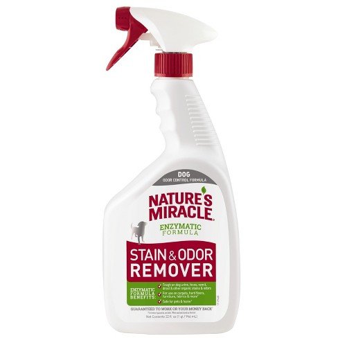 Nature's Miracle Spray Pet Stain and Odor Remover Enzymatic Formula 32 Oz - image 1 of 3