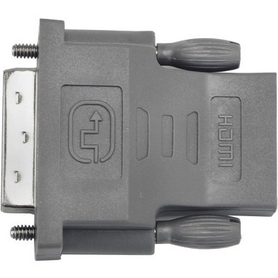 VisionTek DVI to HDMI Adapter (M/F) - 1 x DVI-D (Single-Link) Male Digital Video - 1 x HDMI Female Digital Audio/Video
