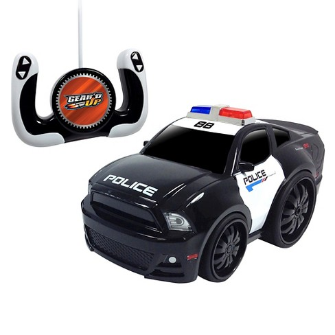 Jam'n Products Gear'd Up Chunky Ford Mustang Remote Control Vehicle, Police - image 1 of 1