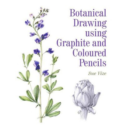 Botanical Drawing Using Graphite and Coloured Pencils - by  Sue Vize (Paperback)