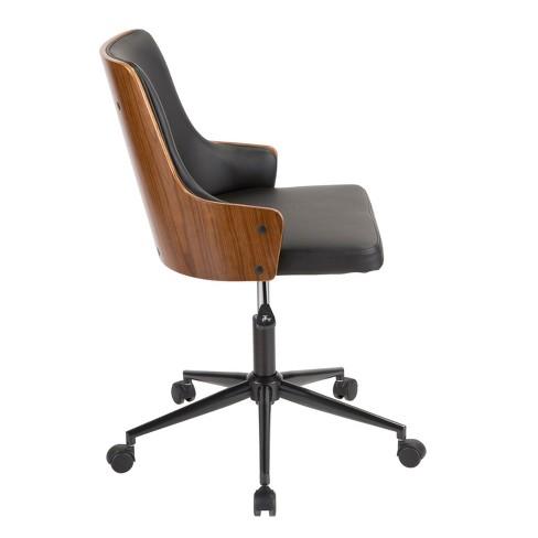 Stella Mid Century Modern Office Chair Lumisource Target