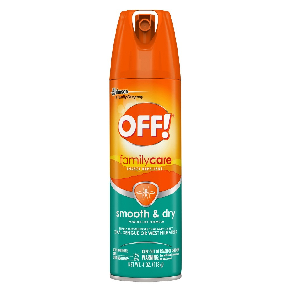 Image of OFF! 4oz FamilyCare Insect Repellent Smooth & Dry