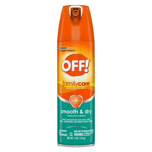 OFF! 4oz FamilyCare Insect Repellent Smooth & Dry - image 1 of 4