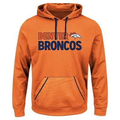 huge discount 5c95b 80b13 Denver Broncos Mens Performance Pullover Fleece Hoodie ...